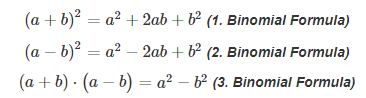 Result of formula representation in the webpage
